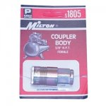 COUPLER B PFE 3/8NPT PUSH LOCK