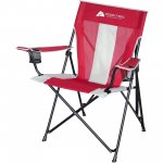 Ozark Trail Tension Camp Chair, Red QC1734