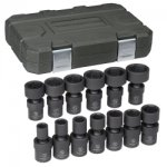 "13 Pc. 1/2"" Drive Impact Universal Socket Set SAE"