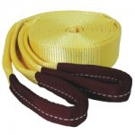 TOW STRAP WITH LOOPED ENDS 2IN. X 20FT. 20000LB.