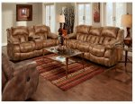 Padre Almond Reclining Sofa