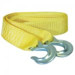 TOW STRAP WITH FORGED HOOKS 2IN. X 10FT. 6000LB