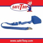 2pt Electric Blue Retractable Standard buckle - Each