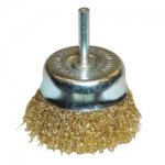 "BRUSH 3"" CRIMPED CUP COARSE"