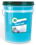 3D Ready Mix Crome Trim and Glass Cleaner - 5 Gallon