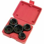 5 PC. FILTER SOCKET SET