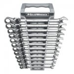 Gearwrench 12 PC XL LOCKING FLEX HEAD RATCHETING SET