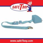 2pt Sky Blue Retractable Standard buckle - Each