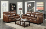 Montebello Leather Sofa & Loveseat Set