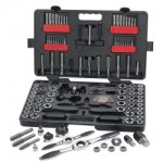 RATCHETING TAP & DIE 114PC