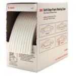 "TAPE SOFT EDGE FOAM MASKING 1/2"" 54.6 YDS"