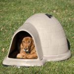 Petmate Indigo Dog House - Tan
