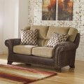 Ashley Vandive Sand Living Room Loveseat