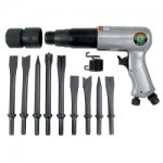 2500mm Long Barrel Air Hammer with 9 pc chisel set