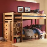 Simply Bunk Beds Twin/Twin Bunk Bed w/Step-Storage