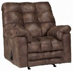 Padre Mocha Chaise Rocker Recliner Wide