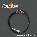 AutoLoc Black Universal Throttle Cable