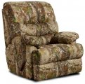 Real Tree Chaise Rocker Recliner Wide