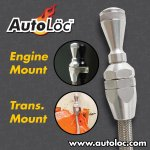 AutoLoc Stainless Steel Ford 351 Engine Oil Dipstick