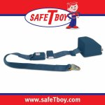2pt Dark Blue Retractable Standard buckle - Each