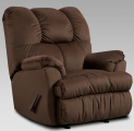 Moab Chocolate Rocker Recliner Big Man's