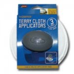"THE GRIPPER 3 PACK 5"" TERRY APPLICATORS"
