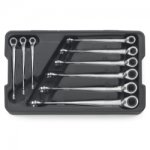 Gearwrench 9 PC X-BEAM REV COMBO RATCH WRENCH SET SAE