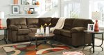 Dailey Chocolate Sectional Set