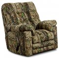 Real Tree Chaise Rocker Recliner Big and Wide