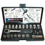 SKT SET(SAE&MET)GEAR RATCHET 21PC SET