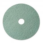 "Burnish Floor Pad 3100, 20"", Aqua, 5/Carton"
