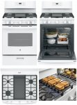 GE 5-Burner Freestanding 5-cu ft Gas Range (White)