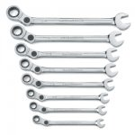 8 Pc. SAE Indexing Combination Wrench
