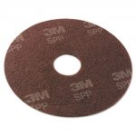 "Surface Preparation Pad, 17"", Maroon, 10/Carton"