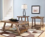 Ashley Bradley Living Room Table Group