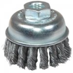 "BRUSH 2-3/4"" KNOT CUP X-COARSE"