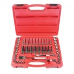 SOCKET SET 3/8DRIVE 47 PIECE 6 POINT