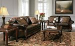 Vanceton Antique Living Room 4 pc. Set