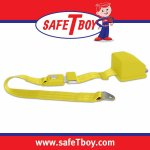 2pt Yellow Retractable Standard buckle - Each