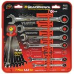 WRENCH RATCHING COMB. SET SAE 7 PC GEARWRENCH