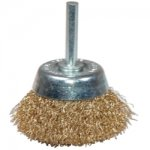 "BRUSH 2"" CRIMPED CUP COARSE"