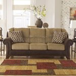 Ashley Living Room Furniture Vandive Sand Sofa