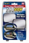 Total View 360 - Adjustable Blind Spot Mirror, Set Of 2