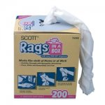 SCOTT RAGS IN A BOX 200CT