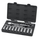 "28PC 1/2"" DRIVE METRIC SOCKET SET (STD / DEEP)"