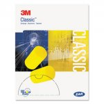EAR Classic Small Earplugs in Pillow Paks, PVC Foam, Yellow, 200