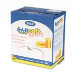 EARsoft Blasts Earplugs, Uncorded, Foam, Yellow Neon/Red Flame,