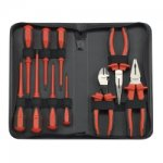 10PC INSULATED HYBRID PLIERS AND SCREWDRIVER SET