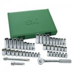 TOOL SET 3/8IN. DRIVE 47PC MET SAE 6 PT W/RATCH