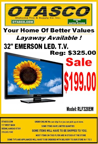 "32"" Emerson Led TV Sale !"